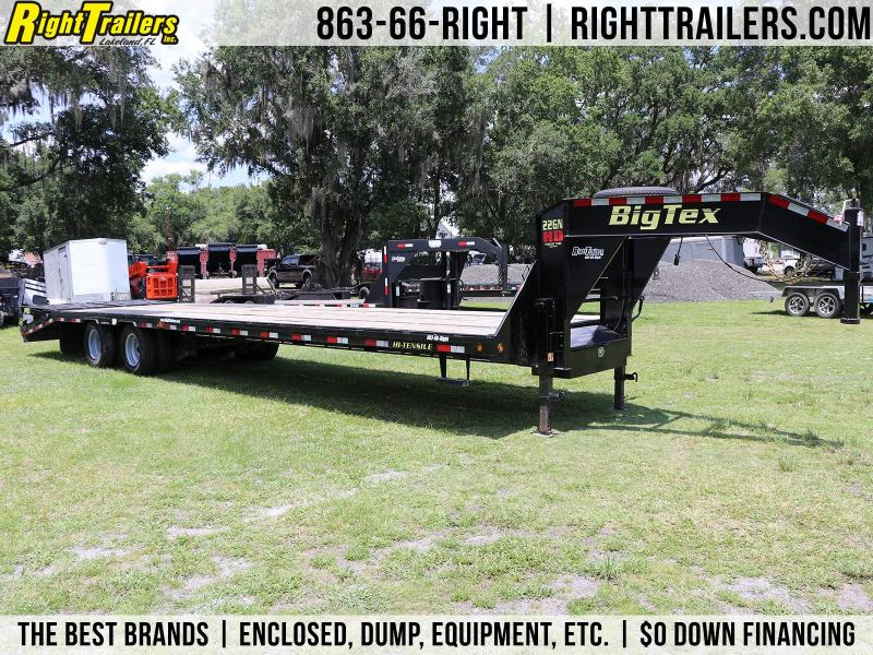 8.5x35 Big Tex Trailers | Gooseneck Equipment Trailer