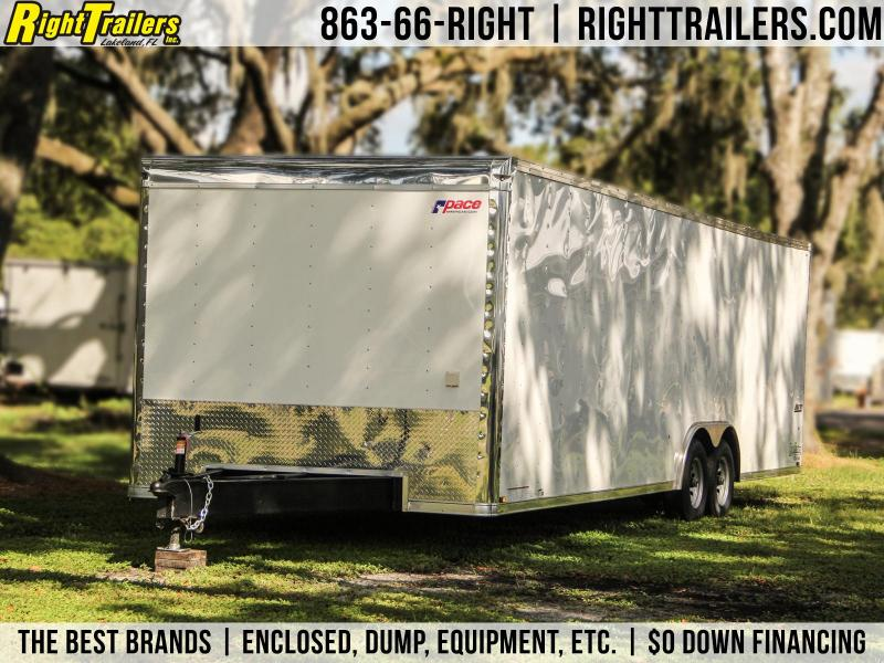 8 5x28 Pace American | Race Car Trailer | Stacker Trailers For Sale