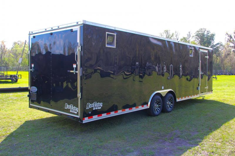 8.5x28 Continental Cargo | Enclosed Race Trailer