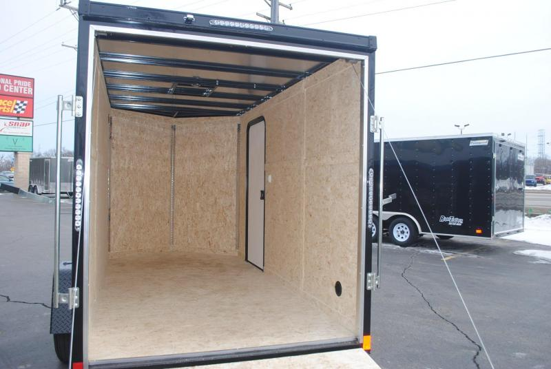 6x12x6.5 Impact Trailers | Enclosed Trailer