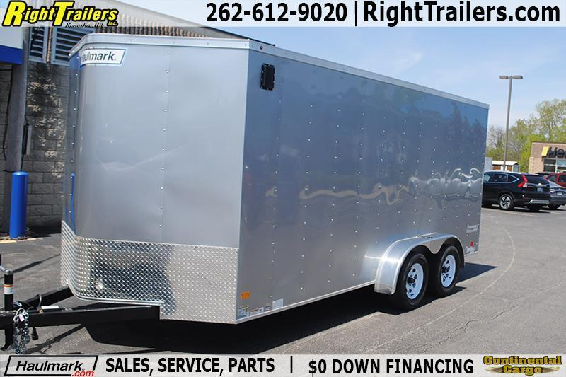 7x16 Haulmark | Enclosed Trailer [Extra Height] in Ashburn, VA
