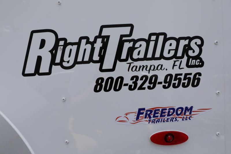 6x12 Freedom Trailers | Enclosed Trailer