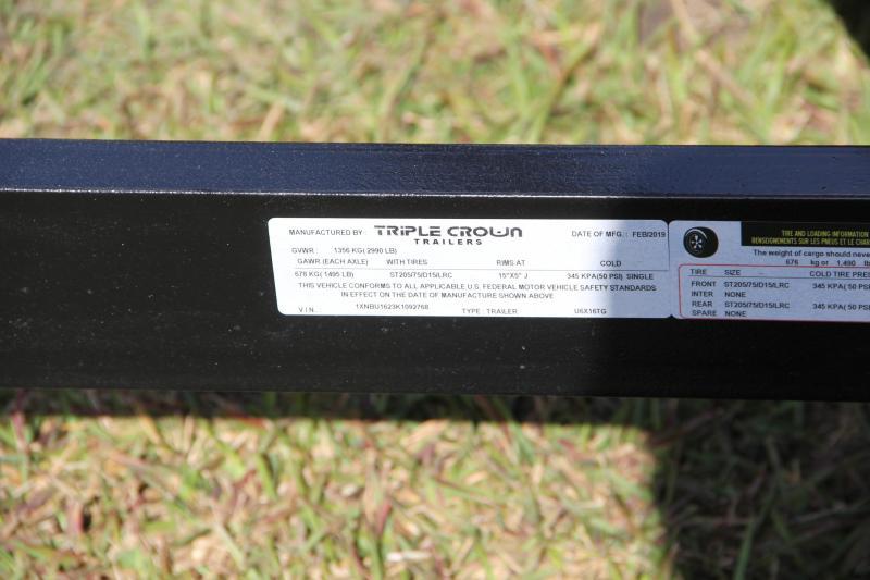 6x16 Triple Crown Trailers | Utility Trailer