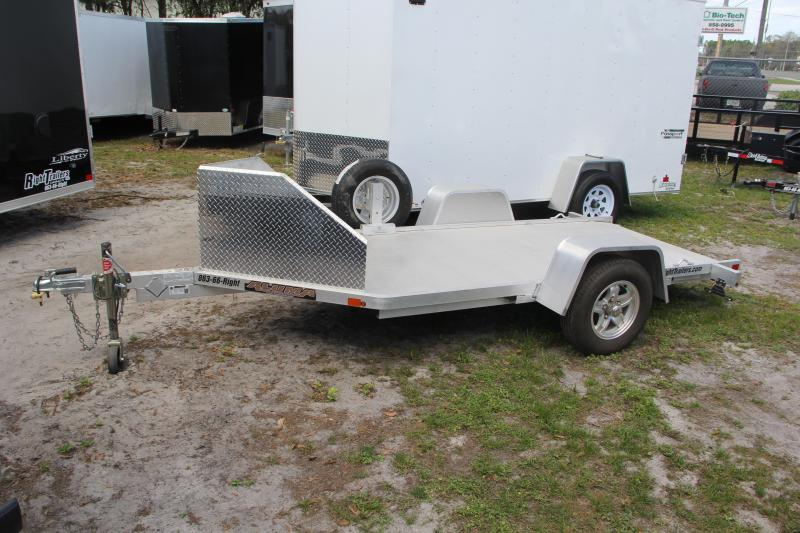 USED: 5x12 Aluma Trailers | Motorcycle Trailer