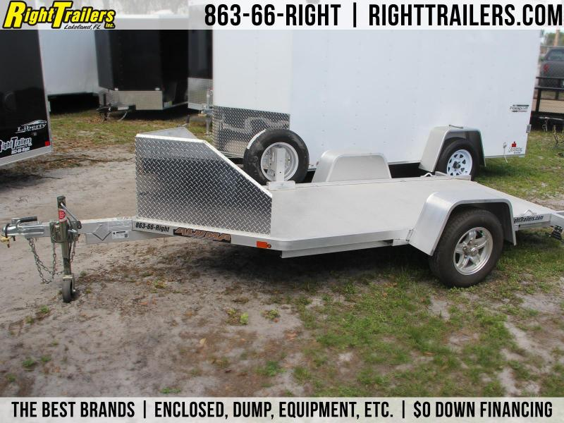 USED: 5x12 Aluma Trailers | Motorcycle Trailer in Ashburn, VA
