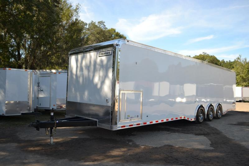 8 5x34 Haulmark Race Car Trailer Right Trailers New