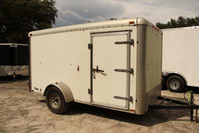 USED 6x12 Cargo King | Enclosed Trailer