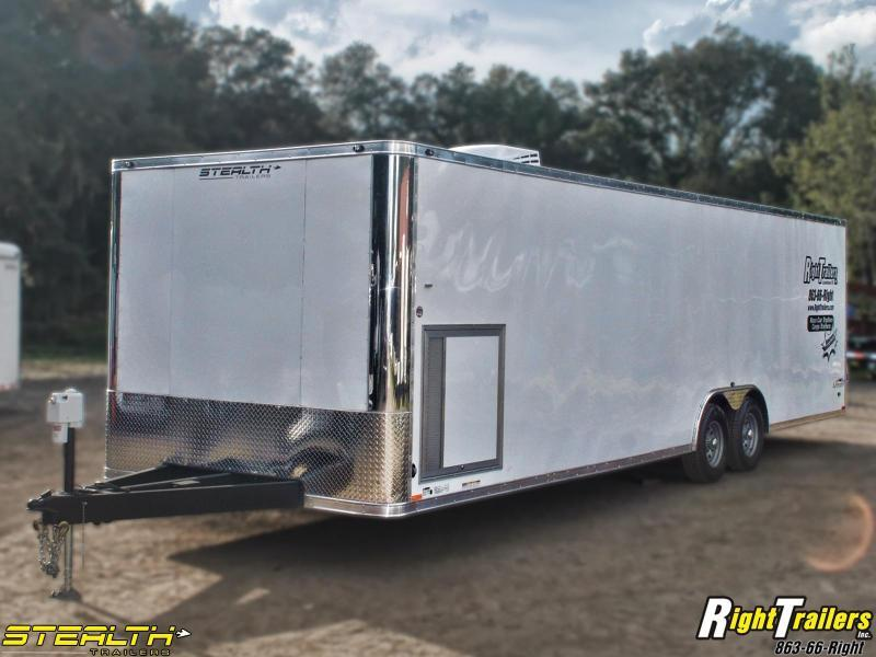 8.5x28 Stealth Trailers | Race Car Trailer | Right Trailers | New ...