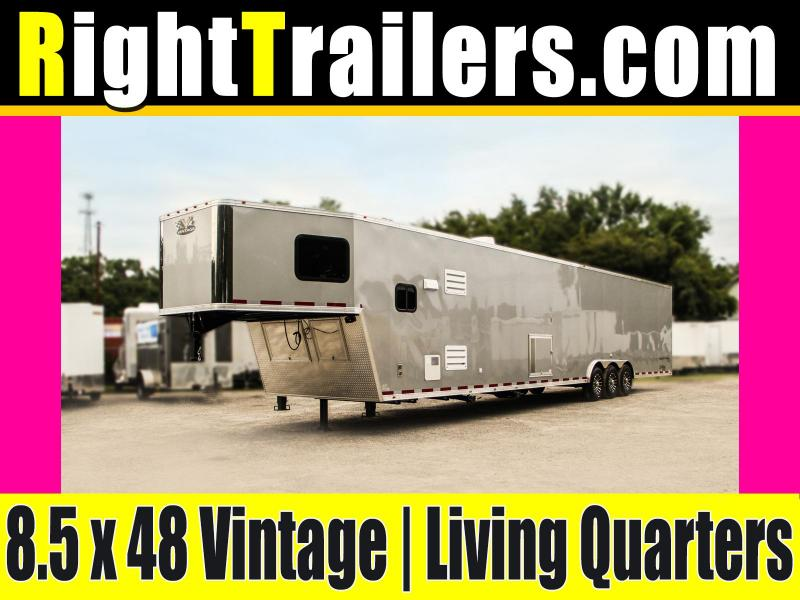 8.5x48 Vintage Outlaw | Living Quarters Trailer