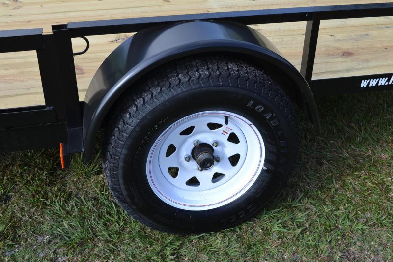 7x12 Red Hot | ATV Utility Trailer