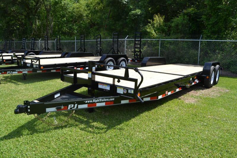 7x24 PJ Trailers | Car Hauler Tilt Trailer