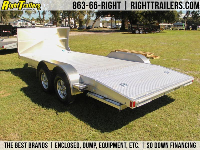 7x18 USED ATC Racing Trailer | Open Race Car Hauler
