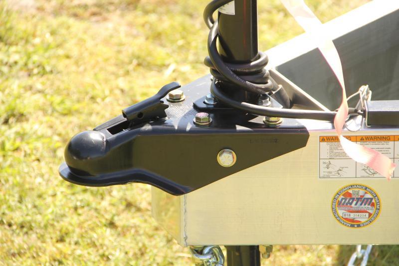 7x18 ATC Trailers   Open Car Hauler