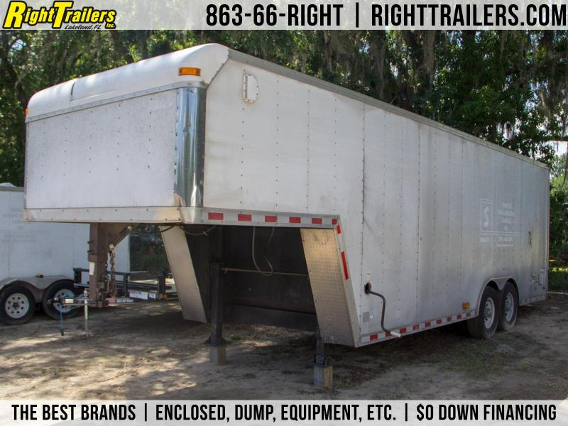 USED: 8.5x28 Pace American | Enclosed Trailer