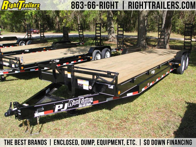 7x28 PJ Trailers | Equipment Trailer