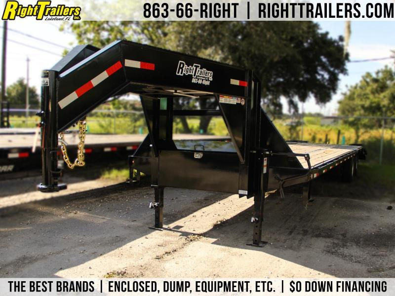 8.5x32 Lamar Trailers | Equipment Trailer Gooseneck