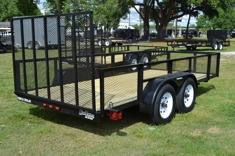 6x14 Red Hot   Utility Trailer