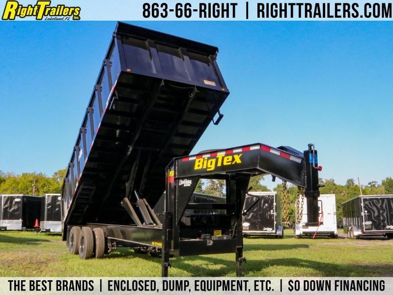 8.5x20 Big Tex Trailers | Dump Trailer