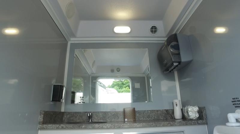 Three Station Restroom Trailer (Rental)