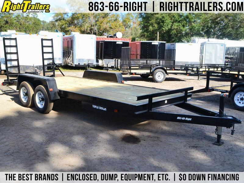 7x18 Red Hot Trailers | Equipment Trailer in Ashburn, VA