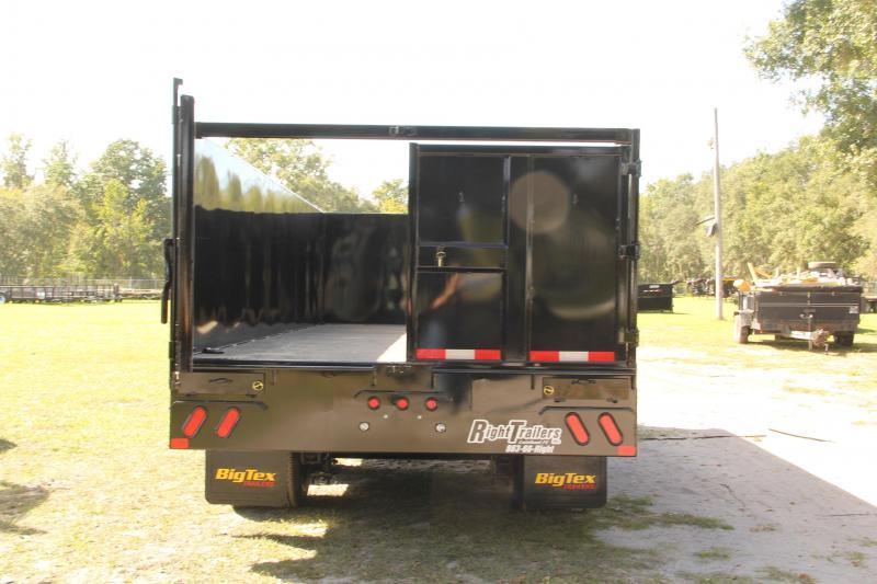 8x20 Big Tex Trailers   Gooseneck Dump Trailer
