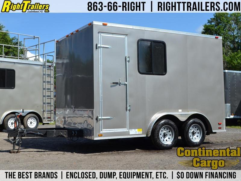 8x12 Continental Cargo | Entertainment Trailer