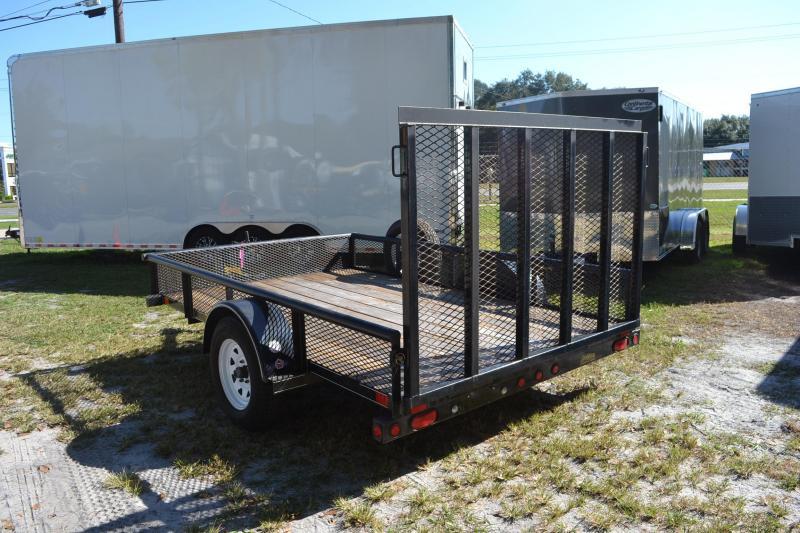 7x16 Big Tex Trailer   Utility Trailer
