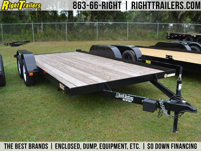 7x16 Red Hot Trailers | Car Hauler in Ashburn, VA
