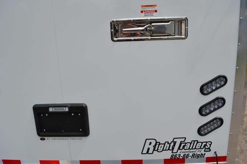 8.5x34 Haulmark Enclosed Race Trailer   Car Racing Trailer