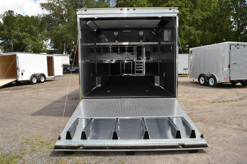 8.5x34 Haulmark Enclosed Race Trailer | Car Racing Trailer