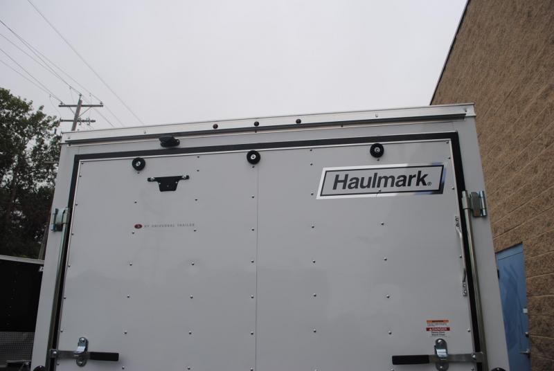 7x12 Haumark Passport   Enclosed Trailer