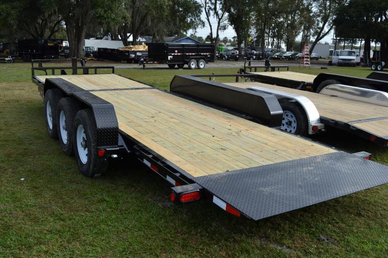 7x24 PJ Trailers | Tilt Deck Equipment Trailer