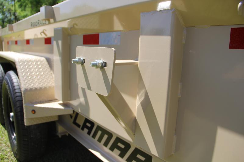 7x14 Lamar Trailers   Dump Trailer [Desert Tan]