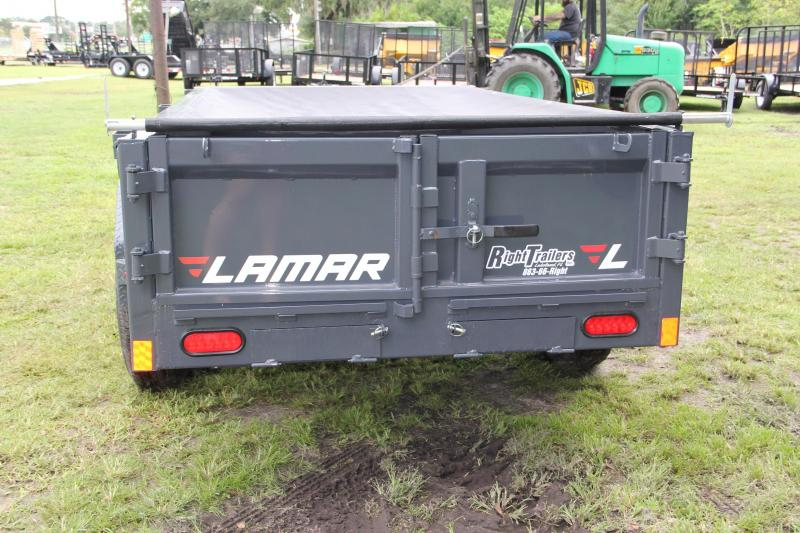 5x10 Lamar Trailers | Dump Trailer [Charcoal Gray]