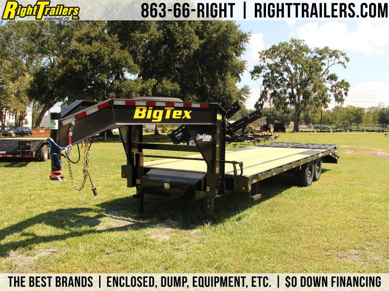 8.5x25 Big Tex Trailers | Equipment Trailer Gooseneck}