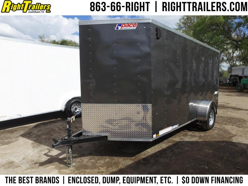 6x12 Pace American | Enclosed Trailer [CHARCOAL] in Ashburn, VA
