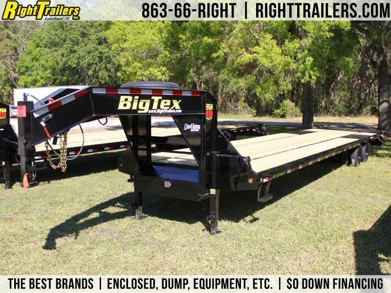 8.5x40 Big Tex Trailers   Equipment Trailer [22GN-35BK+5MR]
