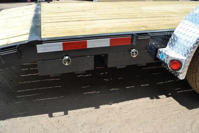 7x20 PJ Trailers   Open Car Hauler