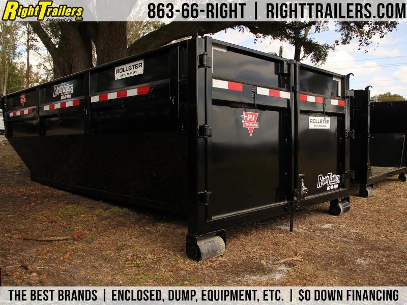 7x14x4 PJ Trailers | Dumpster Bin
