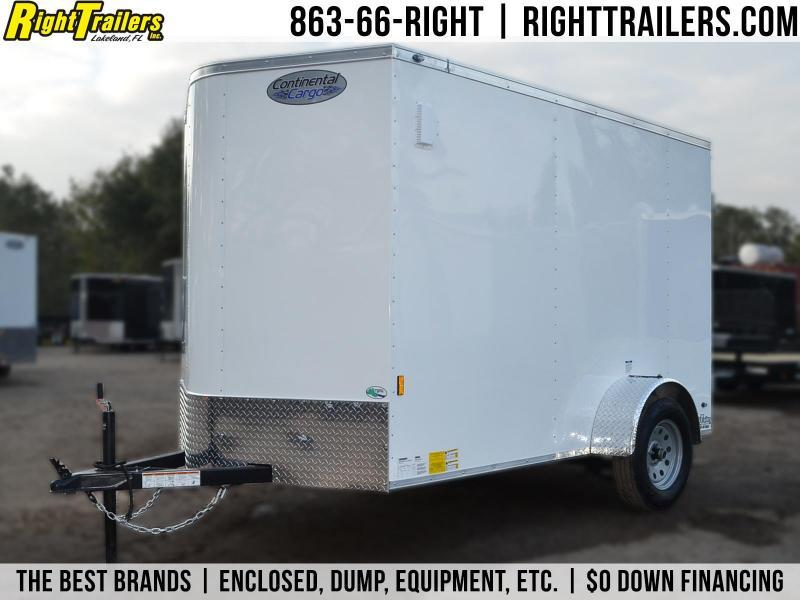 6x10 Continental Cargo | Enclosed Trailer in FL