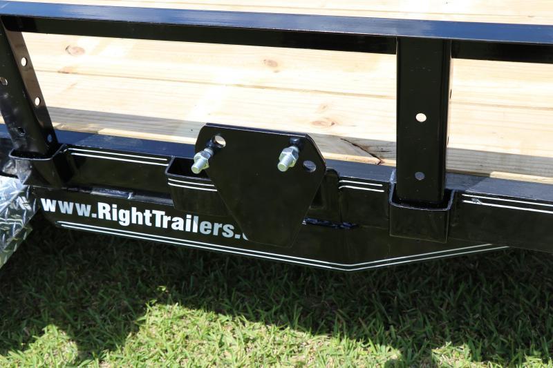 7x16 PJ Trailers | Utility Trailer