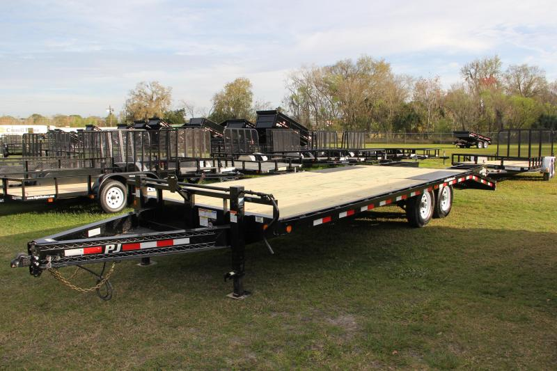 8.5x24 PJ Trailers | Equipment Trailer