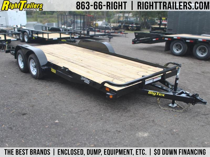 7x20 Big Tex | Open Car Hauler (70CH-20)