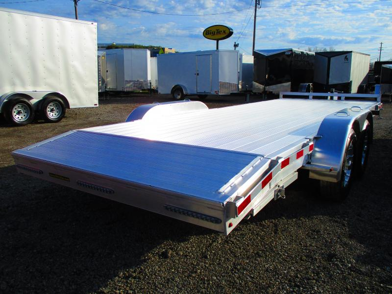 2019 H and H Trailer 82 X 182 Aluminum Heavy Duty Car / Racing Trailer