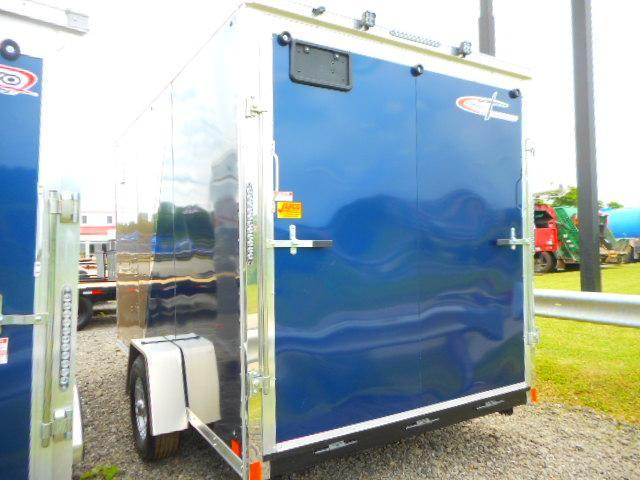 2019 Cross Trailers Alpha Series 7 x 12 SA Enclosed Cargo Trailer