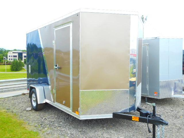 2019 Cross Trailers Alpha Series 7 x 12 SA Enclosed Cargo Trailer