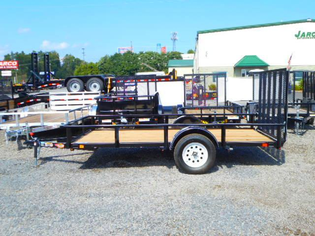 2018 H and H Trailer 6-1/2 x 12 Single Axle Utility Trailer