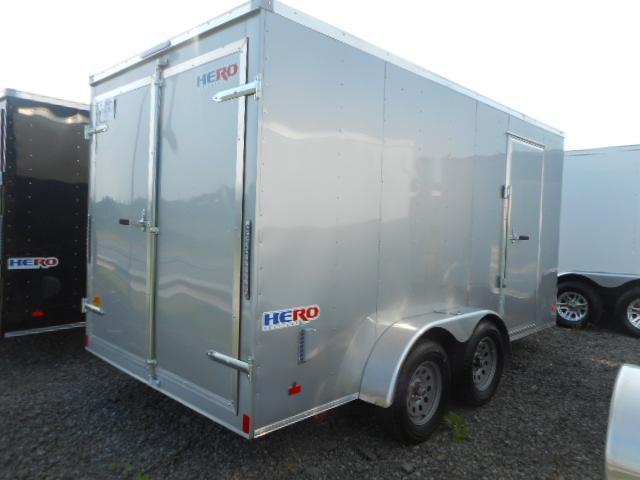 2019 Bravo Trailers Hero 7x14 Tandem Axle Enclosed Cargo Trailer