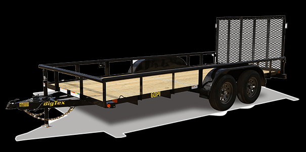 2019 Big Tex Trailers 70PI 83'' X 18' Utility Trailer