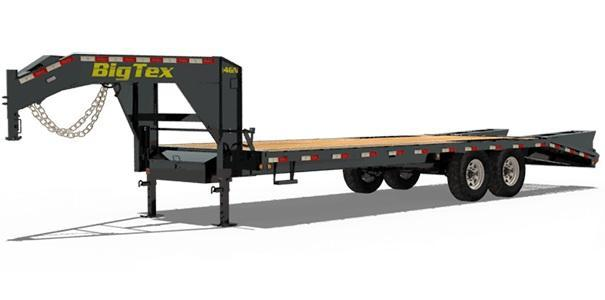 2020 Big Tex Trailers 14GN 102 X 25 + 5 Equipment Trailer